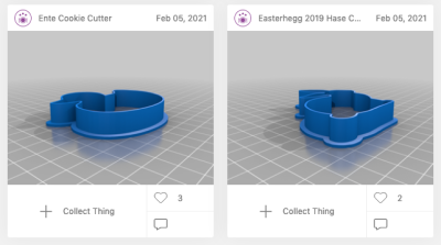 Screenshot Thingiverse